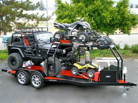 boat trailer wheel care 423 best images about toy hauling atv carrier on pinterest