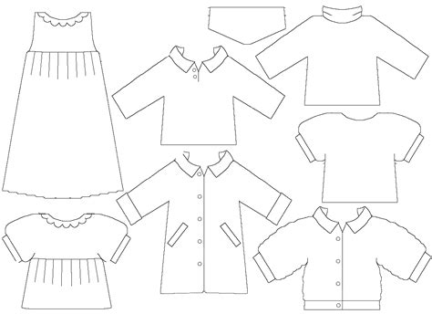 clothing templates 1000 images about paper dolls on paper dolls