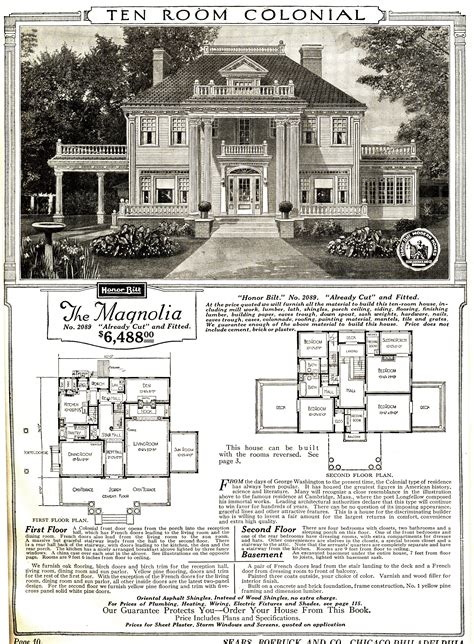 sears homes floor plans file sears magnolia catalog image jpg