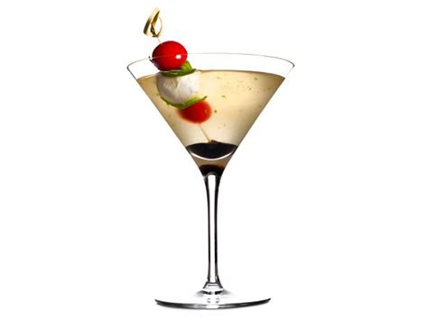 martini fancy caprese martinis recipe food kitchen food