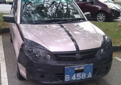 Kereta With Smoke proton saga blm facelift spyshot terkini protonclub automotive