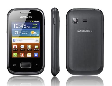 is a galaxy an android samsung galaxy pocket android phone announced gadgetsin