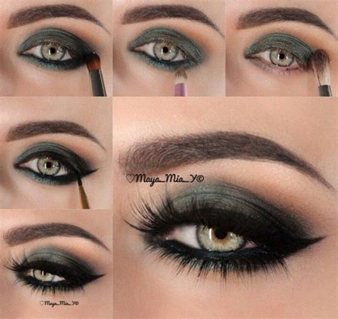 eyeliner tutorial for green eyes 15 spring makeup ideas for green eyes pretty designs