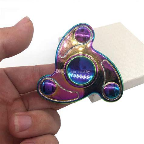 Kungfu Panda Fidget Spinner Metal Spin Spinner Promo 2017 rainbow color spinner ceramic bearing fingertip gyro cyclone fidget spinner
