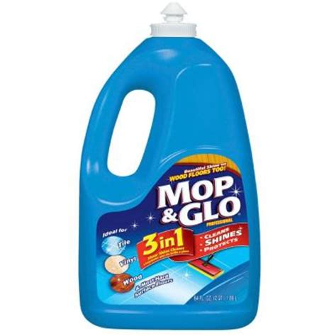 mop glo 64 oz floor shine cleaner 74297 the home depot