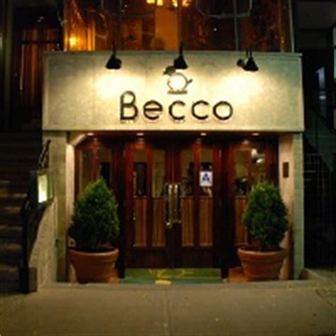 becco homes becco restaurant new york