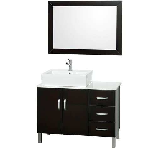 bathroom vanity 40 sophia 40 quot bathroom vanity set espresso free shipping