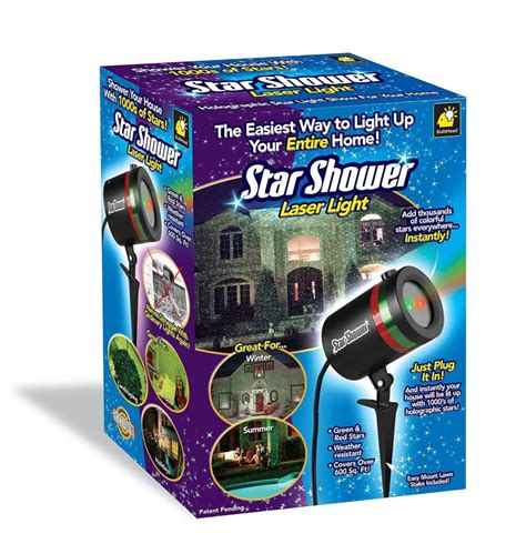 star shower laser light star shower review