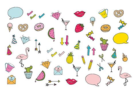 printable stickers cute colourful printable diary stickers make and tell
