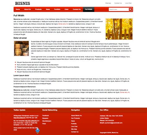 themeforest company profile business template for company profile by plentong