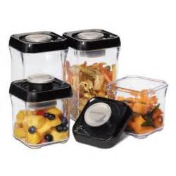 Vacuum Sealed Food Shelf by Cuisinart Freshedge Vacuum Seal 8 Food Storage System