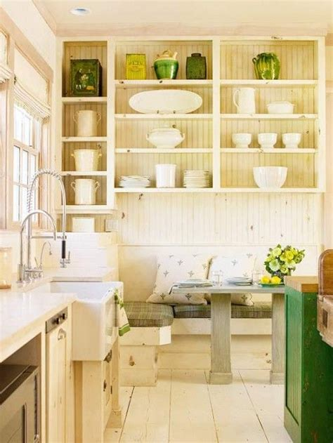 cottage style shelves cottage style with open shelving kitchens