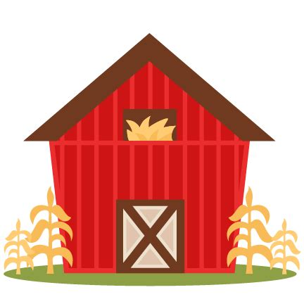 bauernhof scheune clipart farm barn svg scrapbook cut file clipart files for