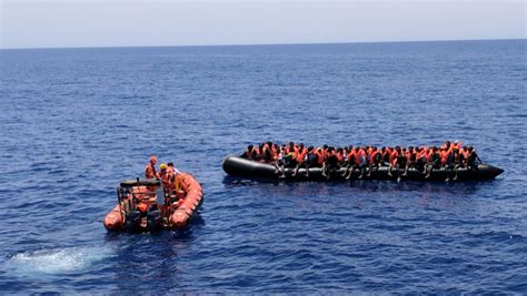 rescue boats mediterranean aid groups rescue over 1 600 migrants in the mediterranean