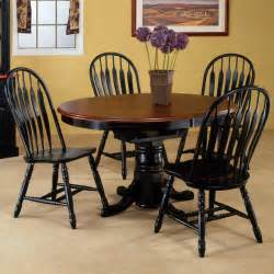 cedar oval dining table set