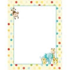 baby shower page borders baby boy page borders frames free images frames