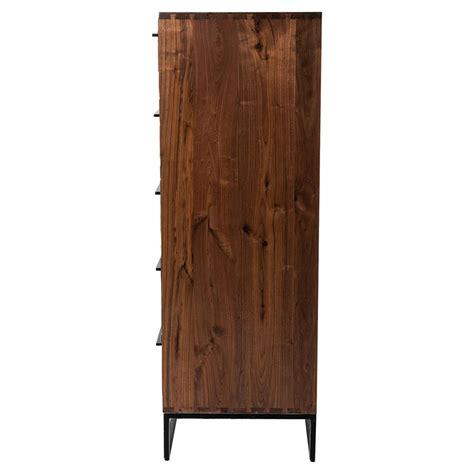 modern reclaimed wood dresser brogan modern classic reclaimed wood iron five drawer dresser