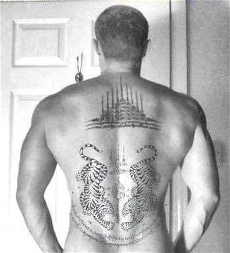 yantra tattoo neck gao yord tattoo also known as quot 9 spires quot the preferred