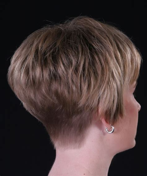 Stacked Wedge Haircut Photos | modified stacked wedge hairstyle short hairstyle 2013