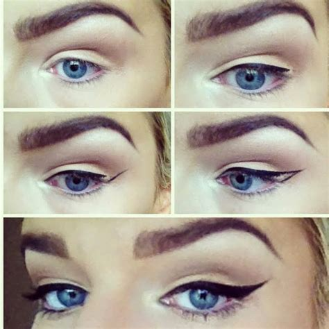 eyeliner tutorial natural look natural looks winged eyeliner tutorial b g fashion