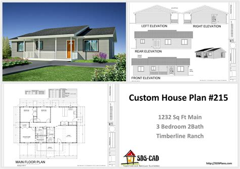 house design pdf h217 modest timberline ranch house plans pdf dwg