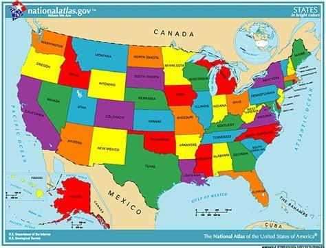 usa state map printable printable maps reference