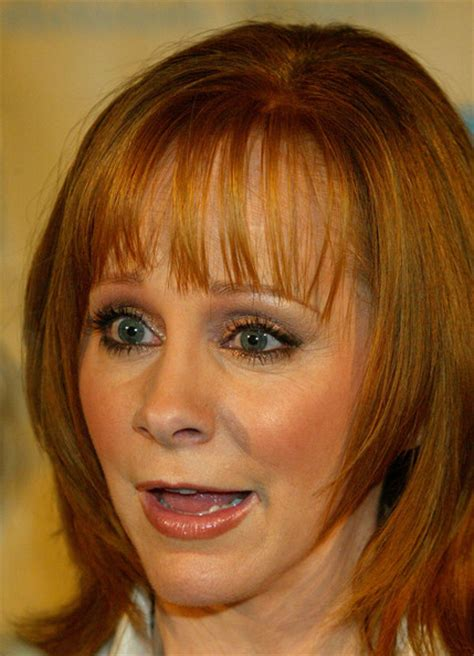 Hairstyles Inventory A Current by Reba Mcentire In Seventh Annual Family Television Awards