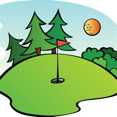 golf clipart golf clipart tree clipart hatenylo
