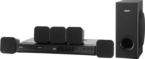 rca 200w 5 1 ch upconvert dvd home theater system rtd3266
