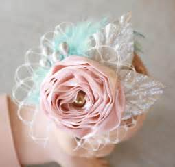 how to make baby flower headbands how to make a lace elastic baby headband with birdcage veil feathers and fabric flower tutorial