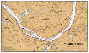 Tennessee River Map by Tennessee River Map