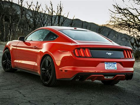 2015 mustang v6 or ecoboost 2015 ford mustang officially unveiled new photos html