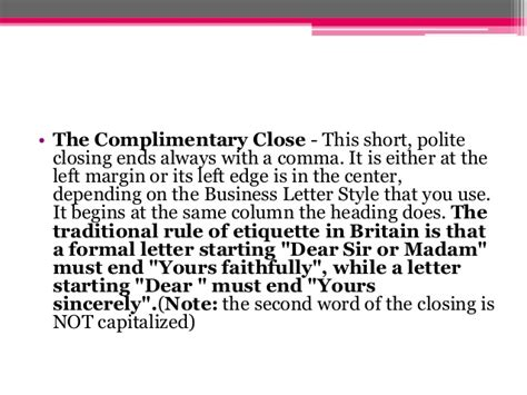 Business Letter Format Exle Dear Sir formal letter dear sir or madam ending 28 images dear