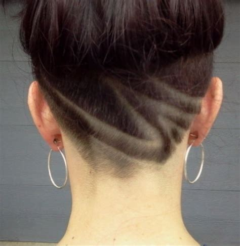 undercut design hairstyle hair and 16 fall inspired outfits with trench coats nape undercut