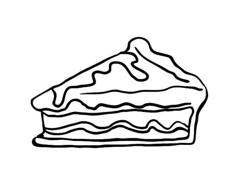 chocolate cake coloring page free coloring pages of piece of pie