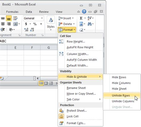 excel format group rows 1 in excel 2010 image search results