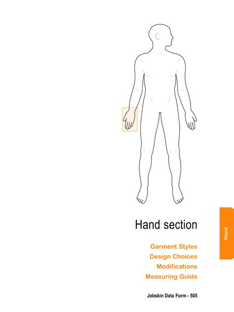 section hand glove to wrist 0535