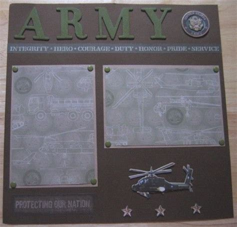 google layout scrapbook army scrapbook layouts google search scrapbooking