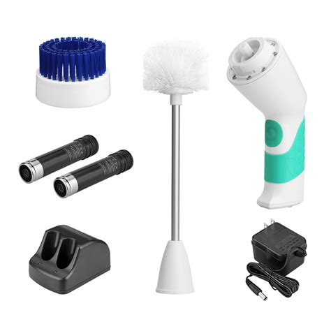 electric bathroom scrubber electric bath toilet scrubber cleaner clean brush handle power cordless bathroom ebay