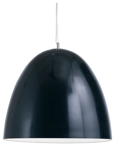 Dome Pendant Light Dome Pendant Light In Black By Nuevo Hgml259 Modern Pendant Lighting By Ebpeters
