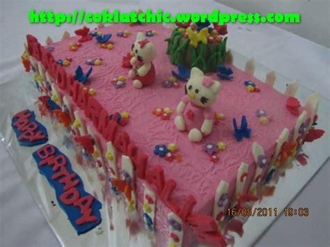 cara membuat kue ulang tahun hello kitty sederhana cara membuat kue ulang tahun anak perempuan cantik dan
