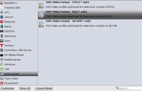dvd format change how to convert avi video into ntsc pal dvd vob format for
