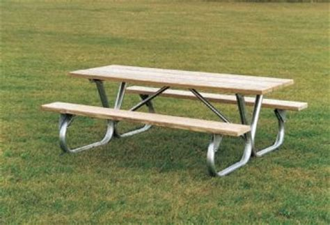 furniture leisure blog galvanized steel picnic table frames