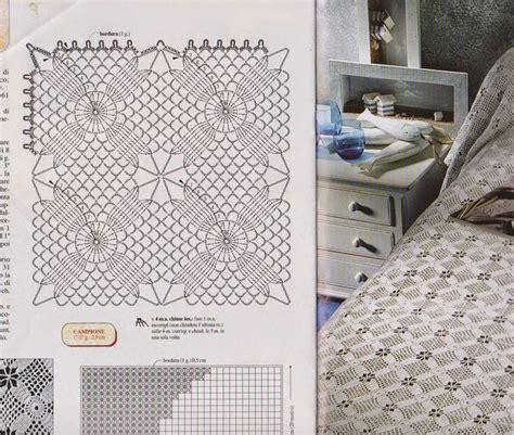 copriletti uncinetto schemi oltre 1000 idee su copriletto all uncinetto su