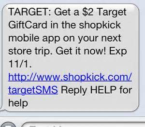 Shopkick Target Gift Card - shopkick possible free 2 target gift card all things target