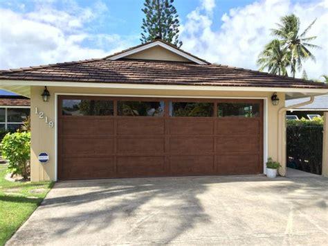 Garage Doors Hawaii by Garage Door Supplier Honolulu Hi Garage Door Contractor