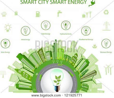 concept of design for environment solar city vectors stock photos illustrations bigstock