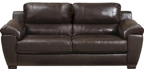 jackson sergio leather match sofa mahogany jf 4526 03