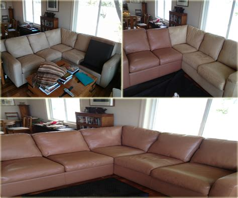 Upholstery Dye Service by Leather Sofa Dyeing Service Leather Restoration Sofa