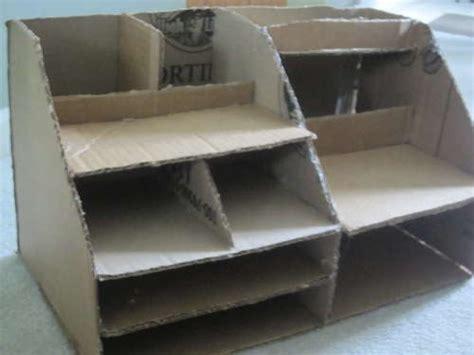 Diy Cardboard Desk Organizer by Best 25 Cardboard Organizer Ideas On Diy